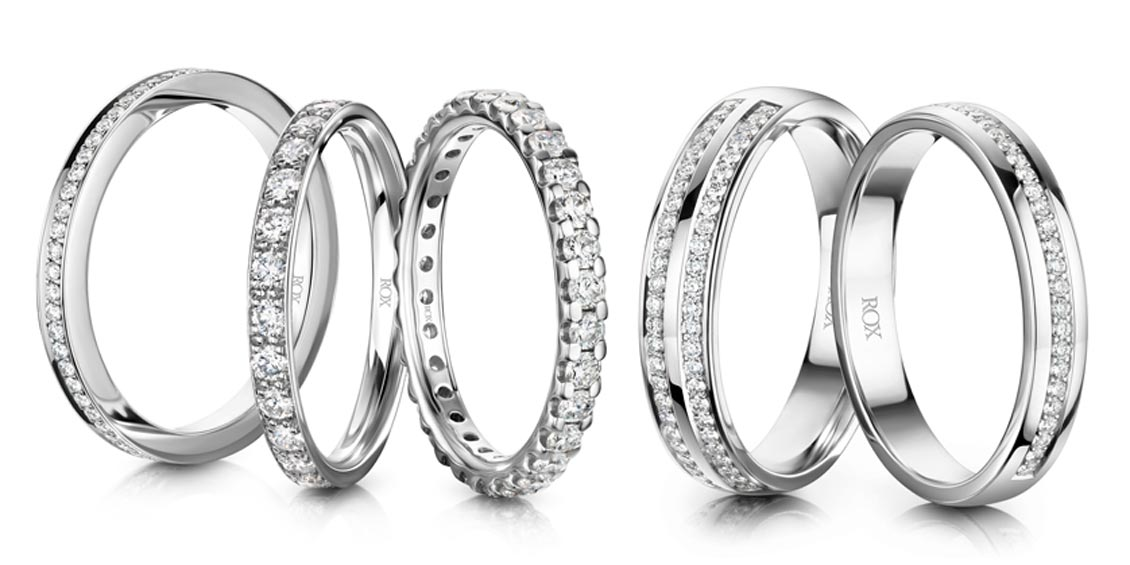 Clipart platinum rings with price banner free download Wedding Rings - Men\'s & Women\'s | ROX banner free download