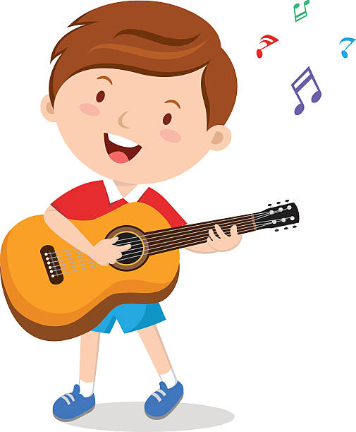 Guitar playing clipart vector free download Guitar Player Clipart Boy Electric Musician - Clipart1001 - Free ... vector free download