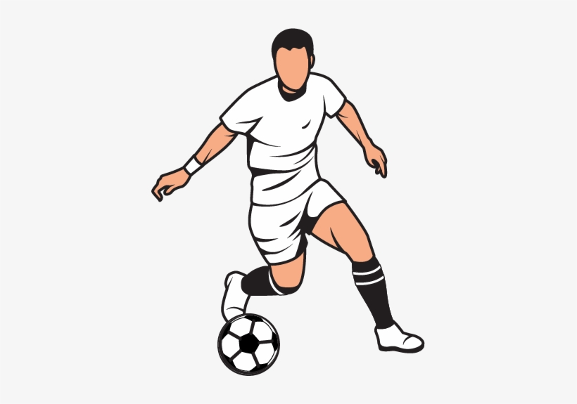 Graphic download clipart player. Football players cliparts