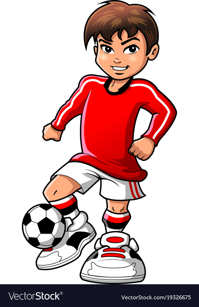 Playing soccer clipart png download Soccer football player teen boy sports clipart png download