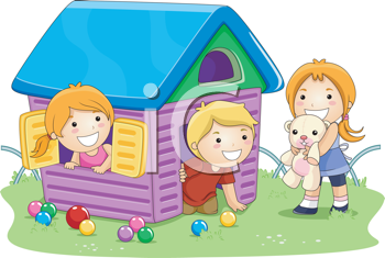 Clipart playhouse png transparent stock Playhouse illustrations and royalty-free clipart images | iPHOTOS.com png transparent stock