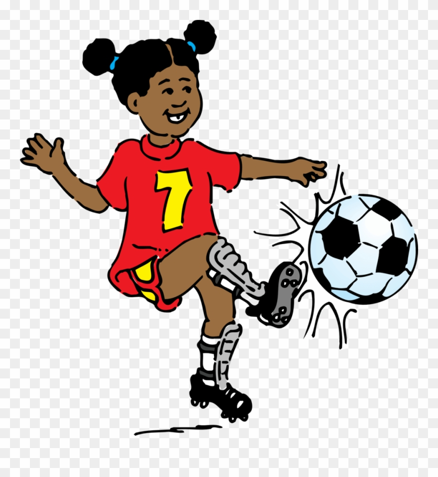 Playing soccer clipart clip art royalty free download Girl Playing Soccer Clip Art Free Vector - Play Soccer Clip Art ... clip art royalty free download