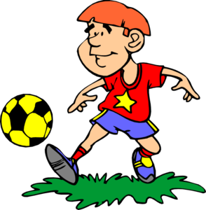 Won soccer game clipart