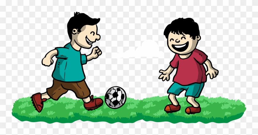 Clipart friends playing vector freeuse Kisspng Football Clip Art Play Friends 5a8253eea08686 - Play With ... vector freeuse