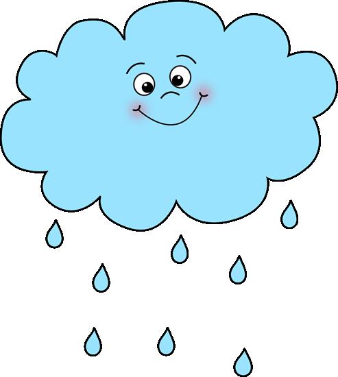 Clipart pluie graphic royalty free stock Nuage de pluie joyeux | crafty ideas | Rain clipart, Clip art, Clouds graphic royalty free stock