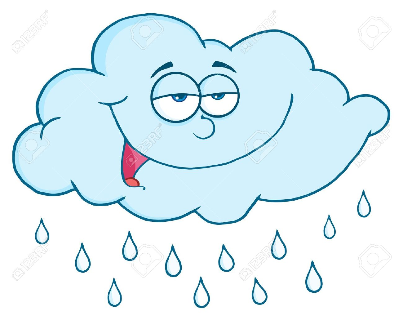 Clipart pluie svg library Pluie clipart 6 » Clipart Station svg library