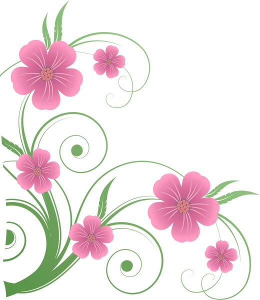Clipart png png free stock Flowers PNG Decorative Element Clipart | nature borders ... png free stock