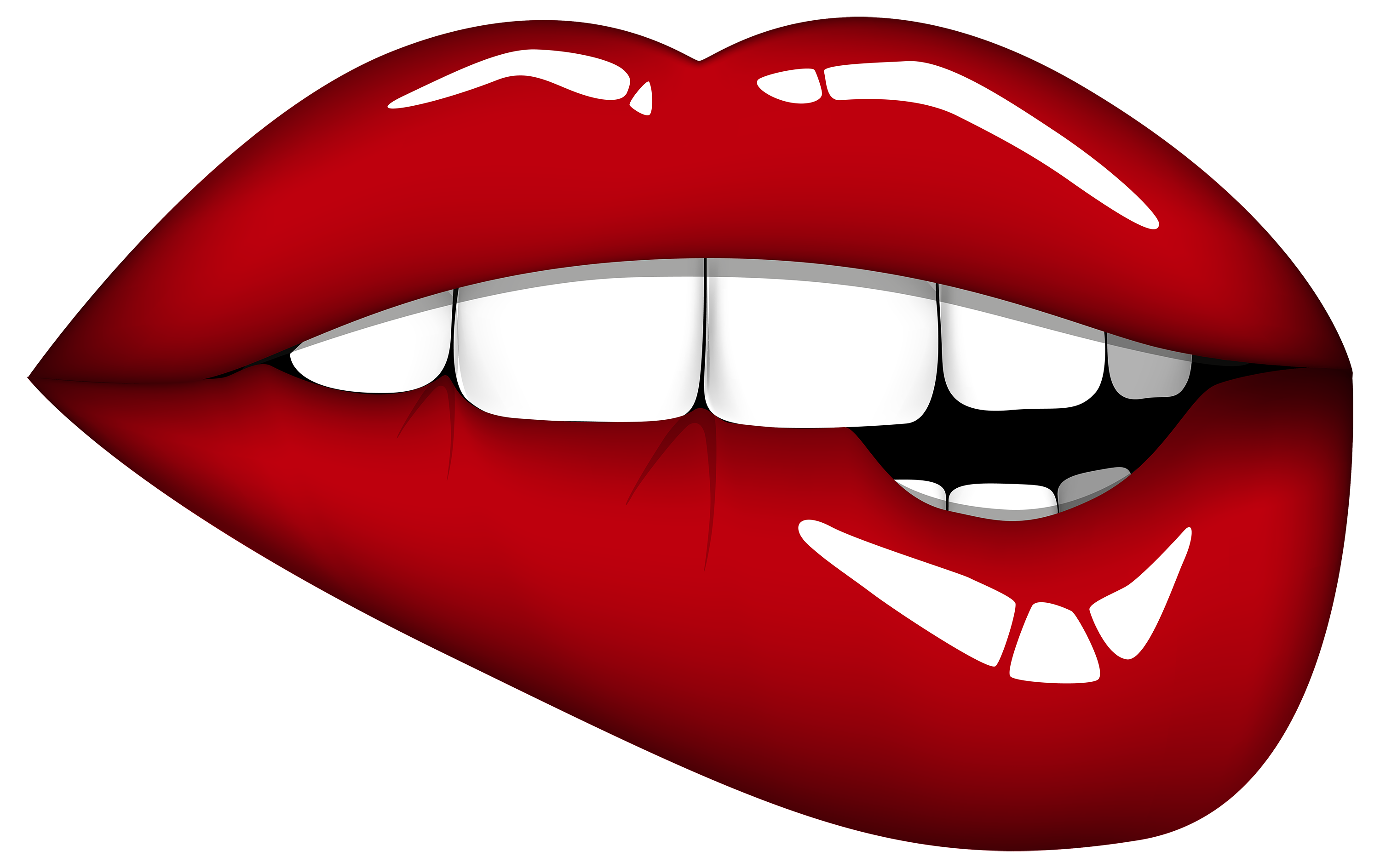 Lips the fish clipart jpg black and white download Red Mouth PNG Clipart Image - Best WEB Clipart jpg black and white download