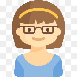 Clipart png blonde little girl with glasses jpg transparent stock Cartoon Girls With Glasses Group with 77+ items jpg transparent stock