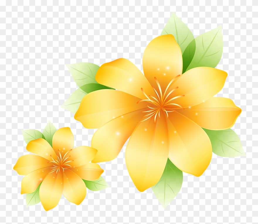Clipart png com clipart transparent stock Large Yellow Flower Clipart - Yellow Flowers Images Clipart - Png ... clipart transparent stock