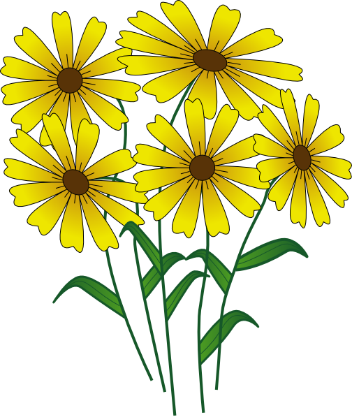 Clipart png com banner transparent stock Best Spring Flowers Clip Art #24116 - Clipartion.com banner transparent stock