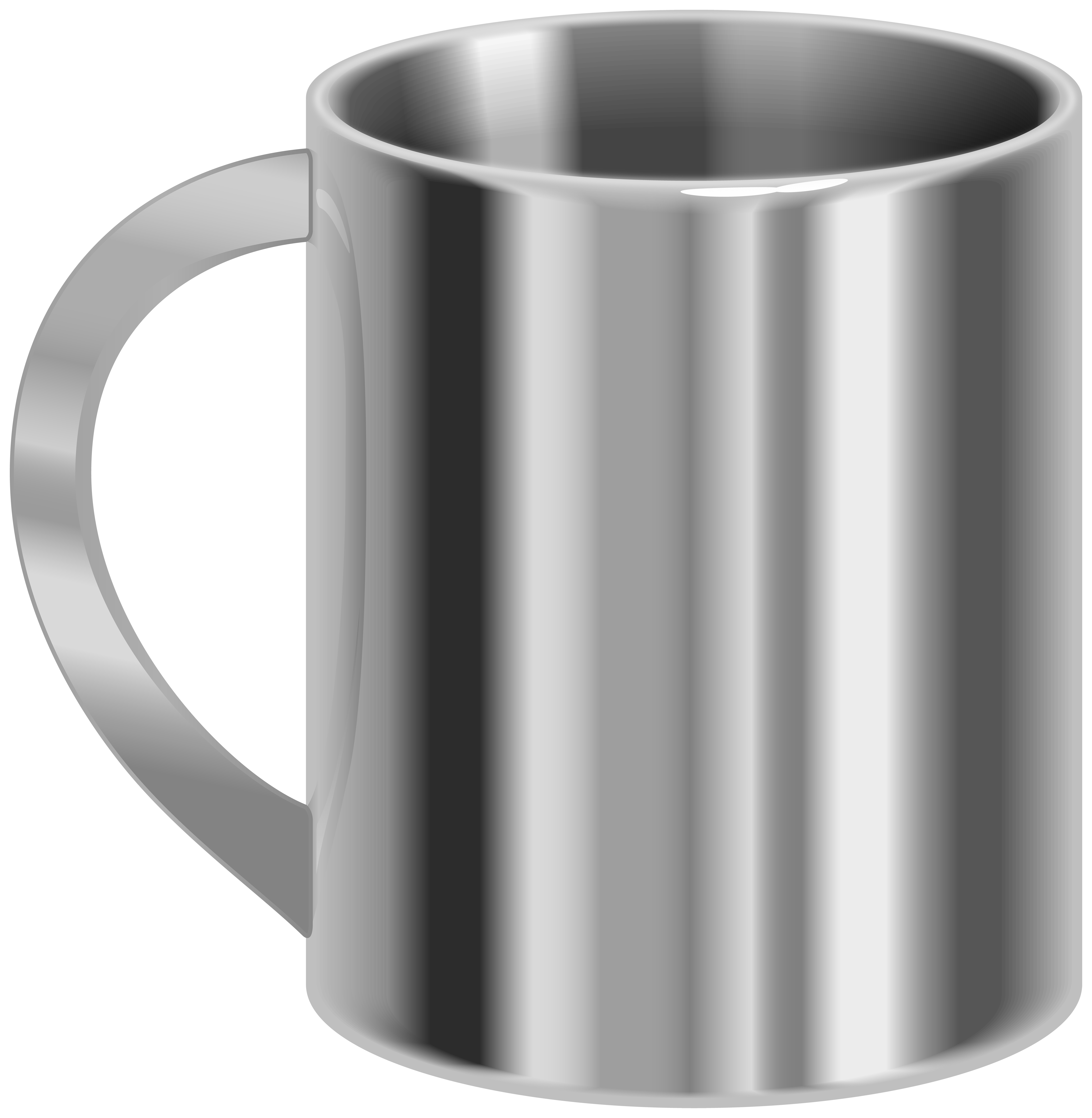 Clipart png com graphic royalty free Stainless Steel Mug PNG Clip Art - Best WEB Clipart graphic royalty free