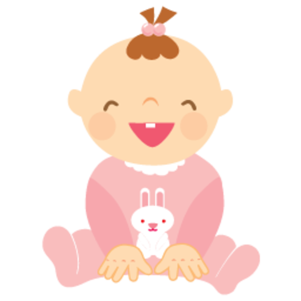 Clipartfox baby free . Clipart png girl laughing