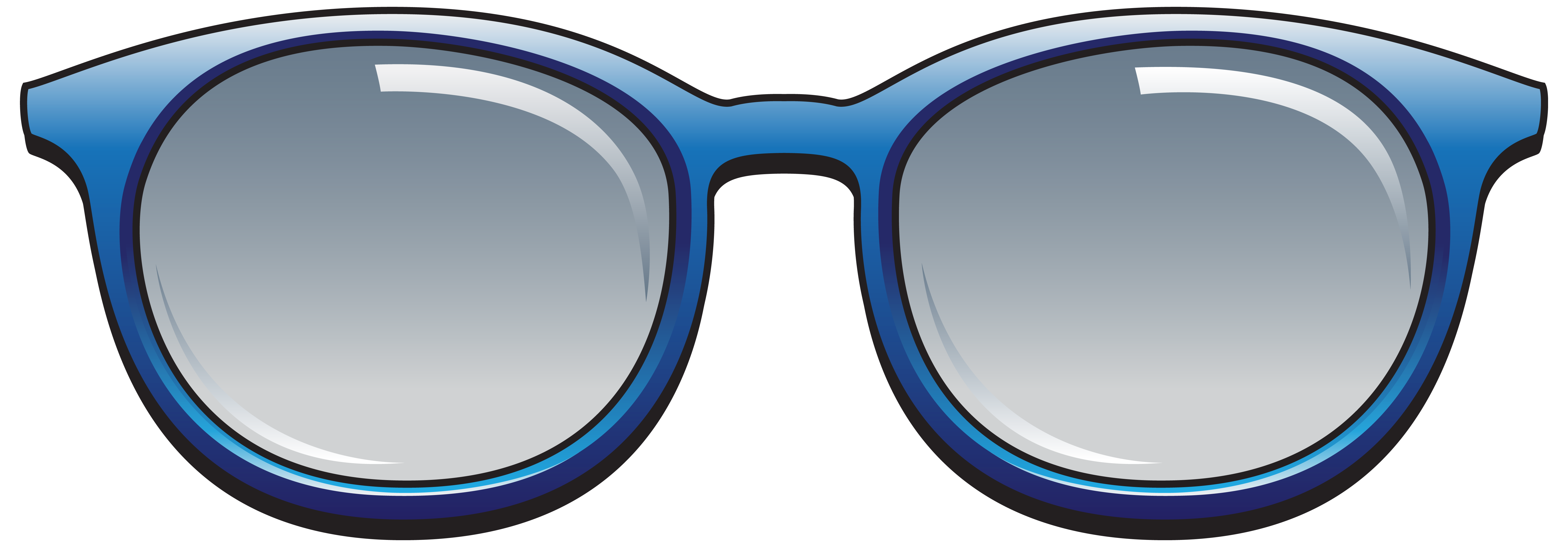 Free sun glasses clipart clip freeuse library Blue Sunglasses PNG Clipart Image | Gallery Yopriceville - High ... clip freeuse library