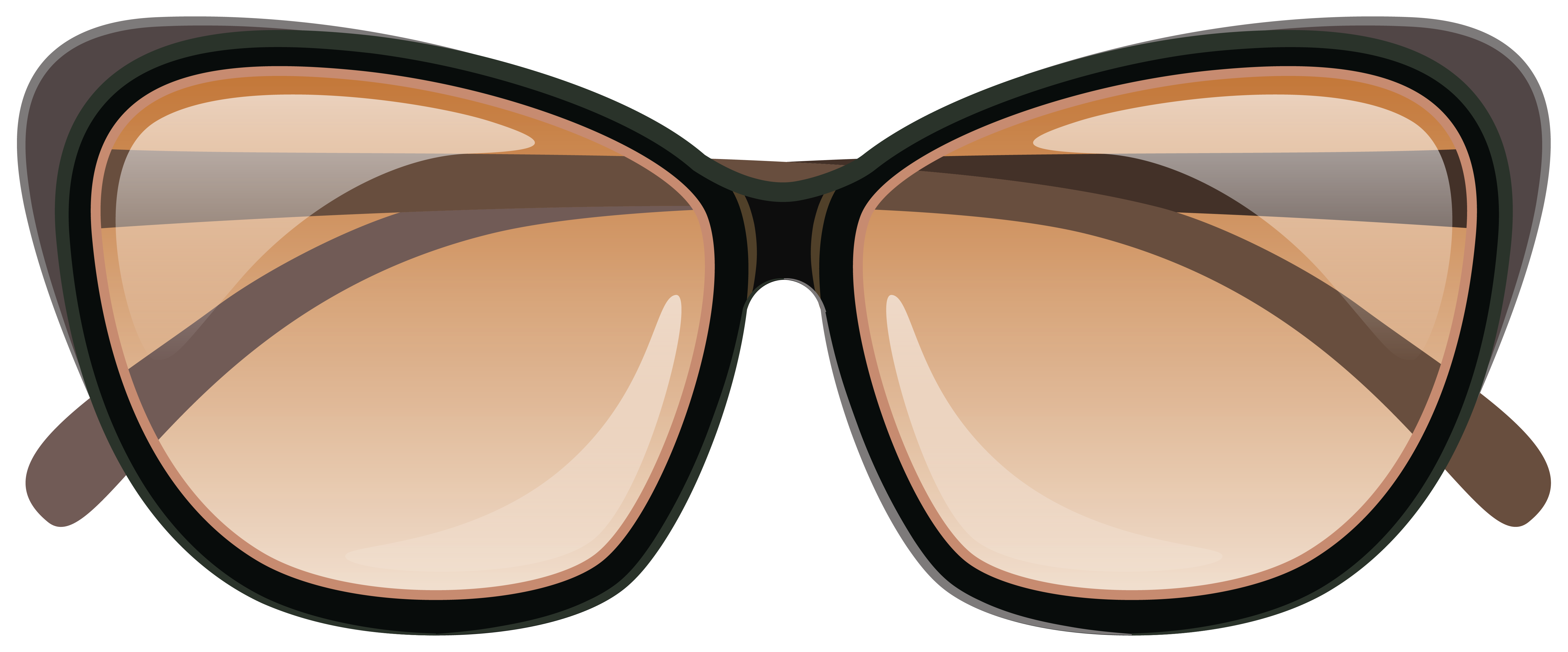 Brown Sunglasses PNG Clipart Image | Gallery Yopriceville - High ... graphic freeuse download