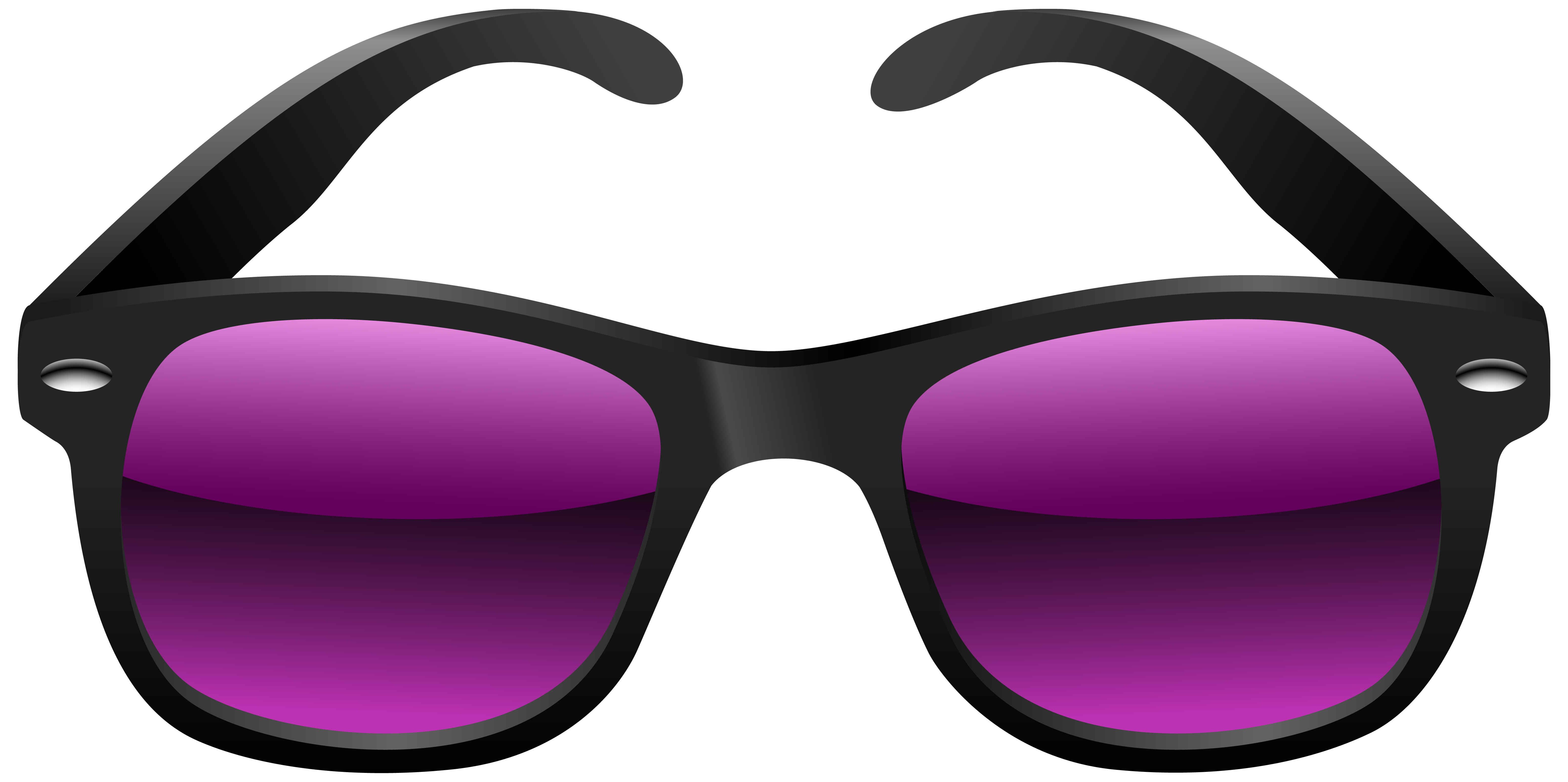 Black and Purple Sunglasses PNG Clipart Image | Gallery ... vector black and white download