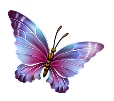 Clipart png transparent picture freeuse download Image - Purple and Blue Transparent Butterfly Clipart.png | Winx ... picture freeuse download