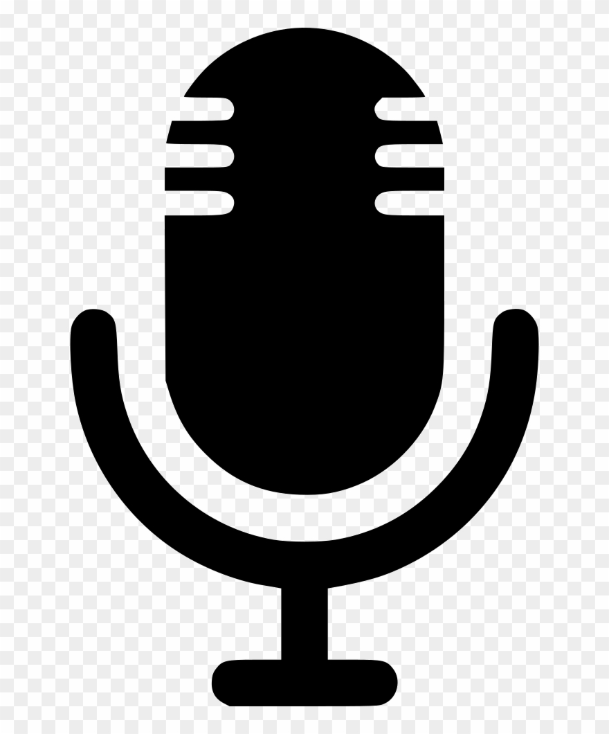 Clipart podcast clip library download Microphone Sound Recorder Audio Comments - Podcast Microphone Logo ... clip library download