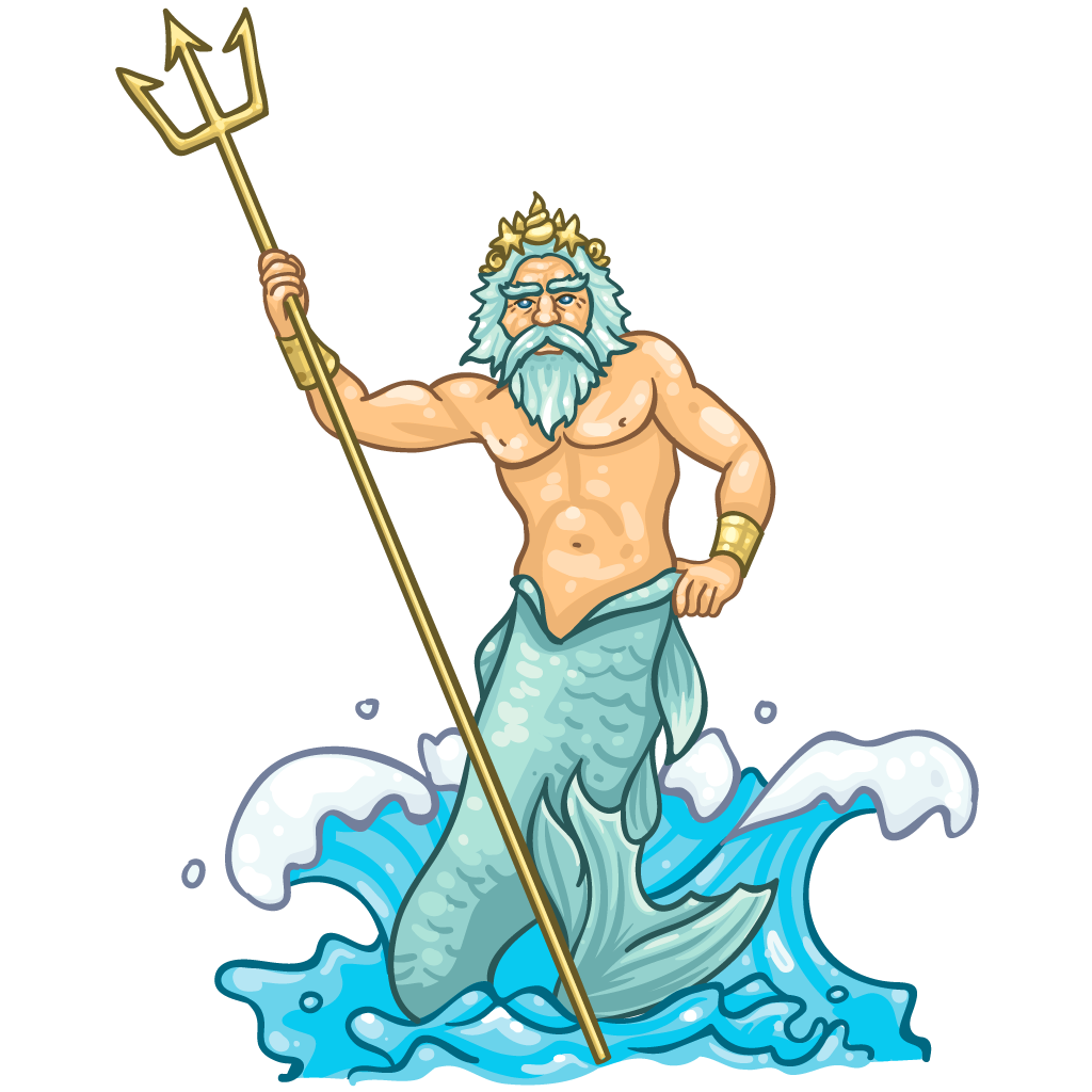Clipart poesidon graphic black and white download Poseidon cartoon clipart images gallery for free download   MyReal ... graphic black and white download