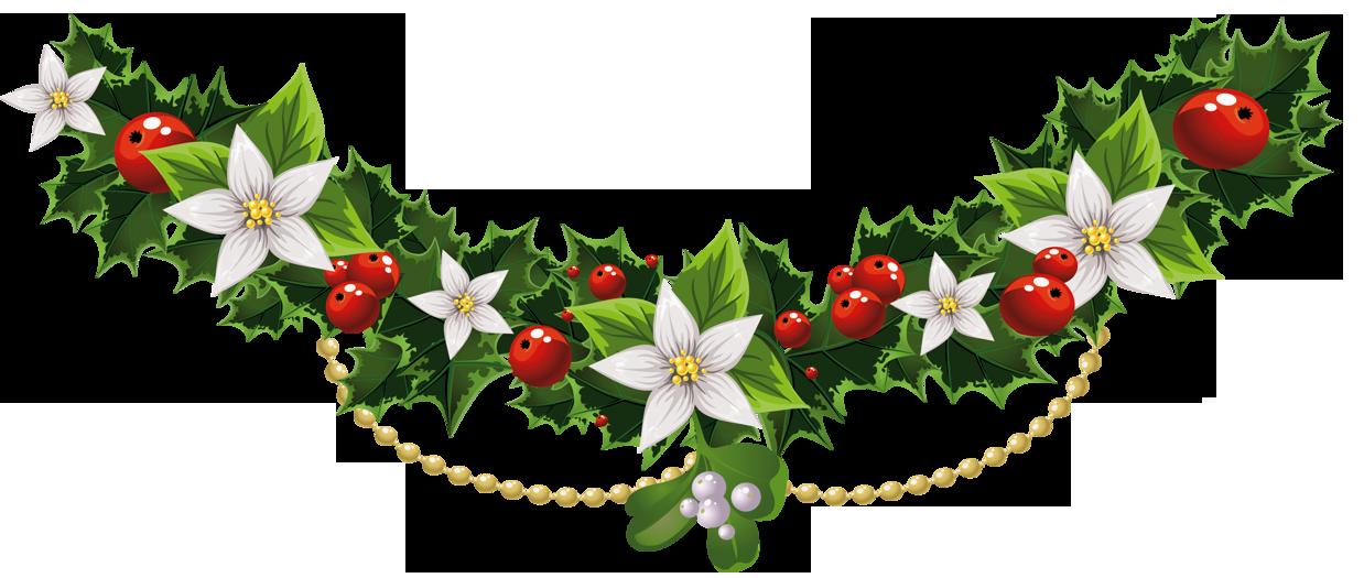 Clipart poinsettia flower clip transparent download Mistletoe Christmas Common holly Clip art - Transparent Christmas ... clip transparent download