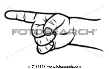 Clipart pointer png transparent Clip Art of kid finger pointer k17181158 - Search Clipart ... png transparent