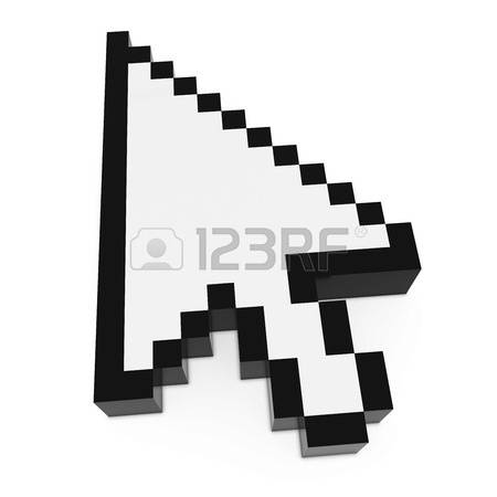 Clipart pointer computer graphic black and white 23,877 Computer Pointer Stock Vector Illustration And Royalty Free ... graphic black and white