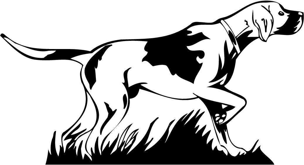 Clipart pointer dog jpg black and white download Pointing dog clipart - ClipartFest jpg black and white download