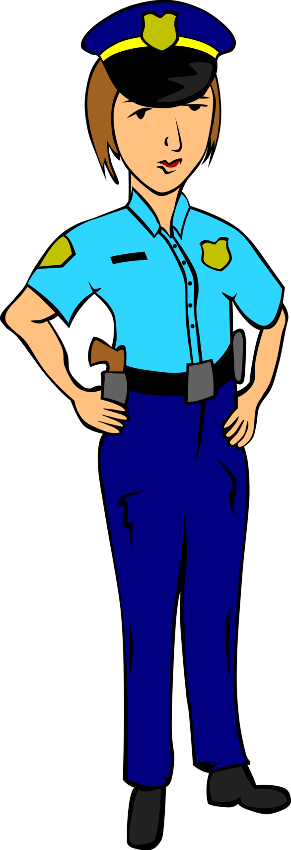 School uniform clipart picture free stock Police Officer Clipart | Clipart Panda - Free Clipart Images picture free stock