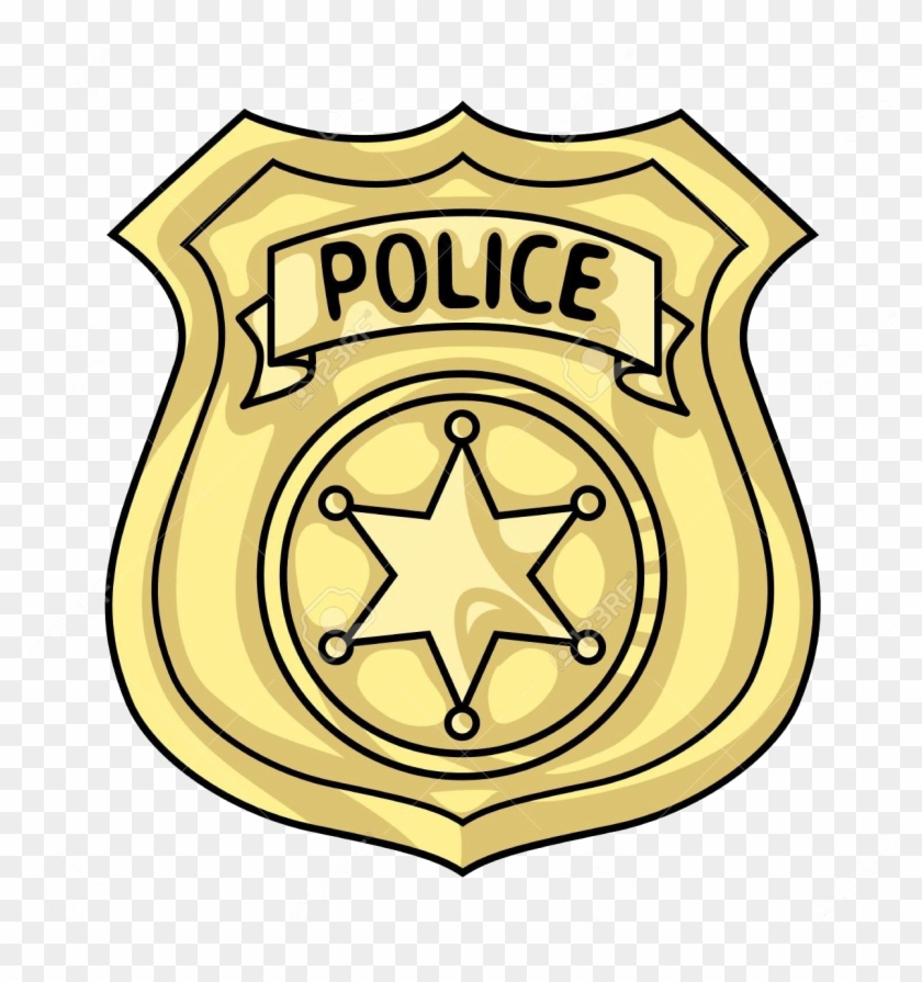 Clipart police badge clip art black and white library Police Badge Png Clipart - Cartoon Police Badge, Transparent Png ... clip art black and white library