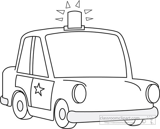 Clipart police car outline clip art free stock Clipart police car outline - ClipartFest clip art free stock