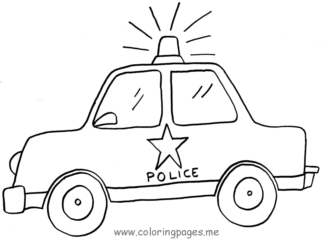 Clipart police car outline clip free stock Lego Car Clipart - Clipart Kid clip free stock