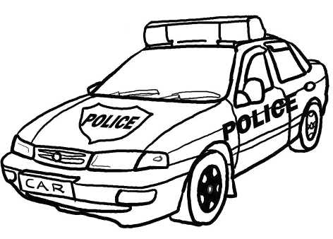 Clipart police car outline graphic freeuse library Police Cruiser Outline - ClipArt Best graphic freeuse library