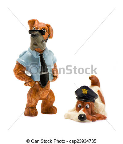 Clipart police dog png library download Stock Photos of Police dog toy - Police toy dog on a white ... png library download