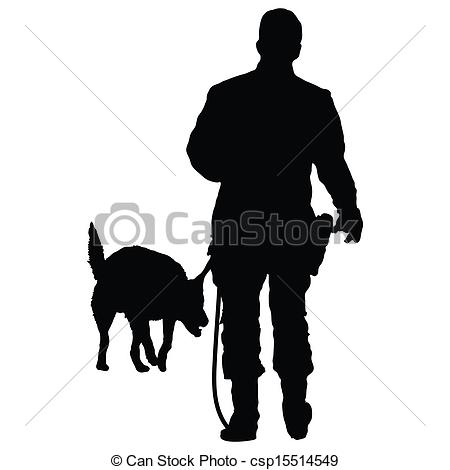 Clipart police dog graphic transparent library Police dog Vector Clip Art EPS Images. 377 Police dog clipart ... graphic transparent library