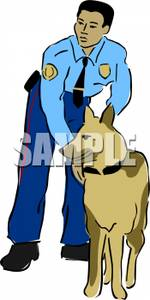 Clipart police dog freeuse library and Police Dog - Royalty Free Clipart Picture freeuse library