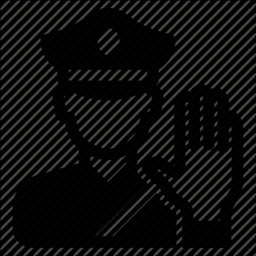 Clipart police stop in name of the law vector transparent \'Pixa Vol.1\' by Ricardo Ruiz vector transparent