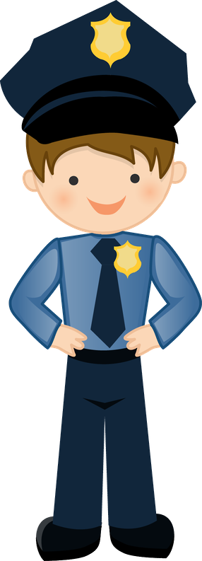 Clipart policia png library library Bombeiros e Polícia - Minus   CARTOON CARACTERS png library library