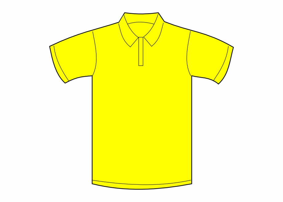 Clipart polo svg stock Polo Shirt Yellow Clipart Free PNG Images & Clipart Download #695433 ... svg stock