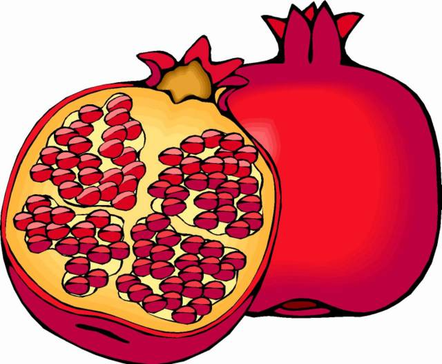 Clipart pomegranate picture stock Free Pomegranate Clipart, Download Free Clip Art, Free Clip Art on ... picture stock