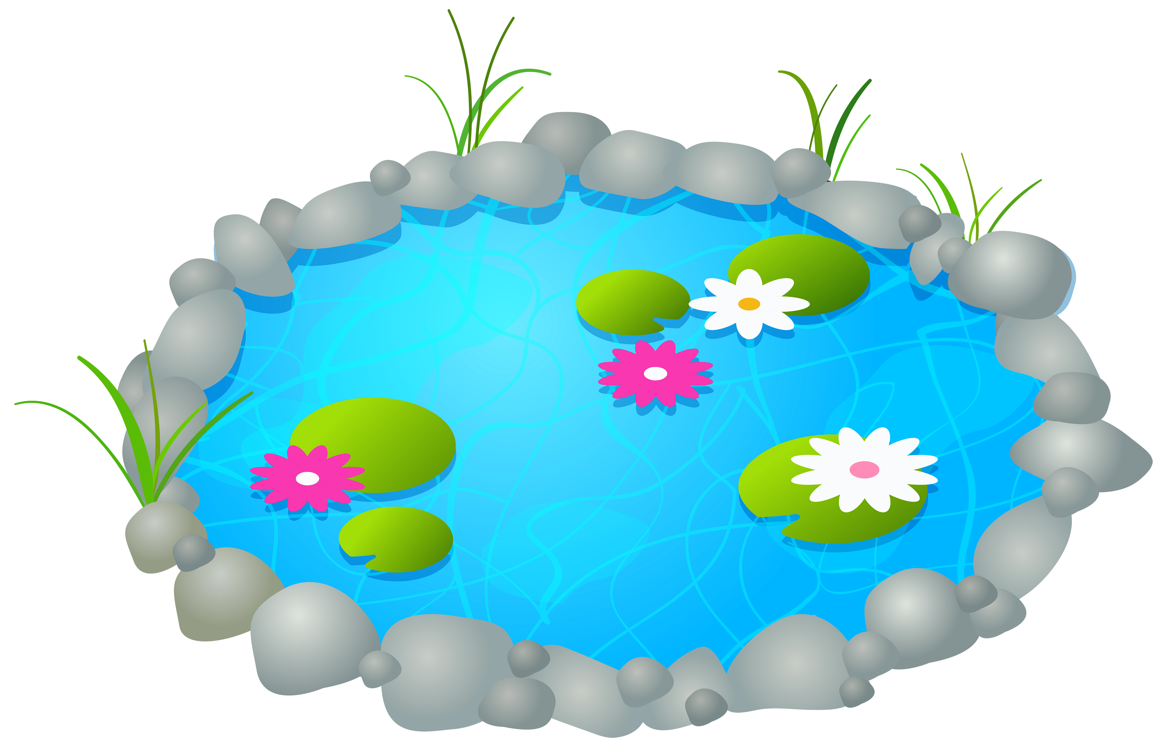 Clipart pond clipart freeuse download Garden Pond PNG Clipart - Best WEB Clipart clipart freeuse download
