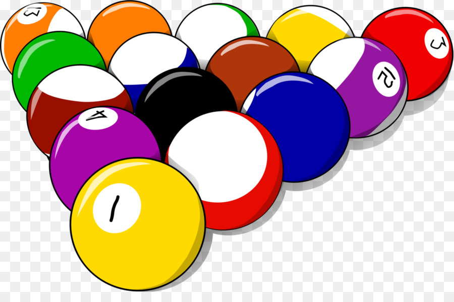 Clipart pool balls vector black and white pool balls clipart Pool Billiards Billiard Balls clipart - Pool ... vector black and white