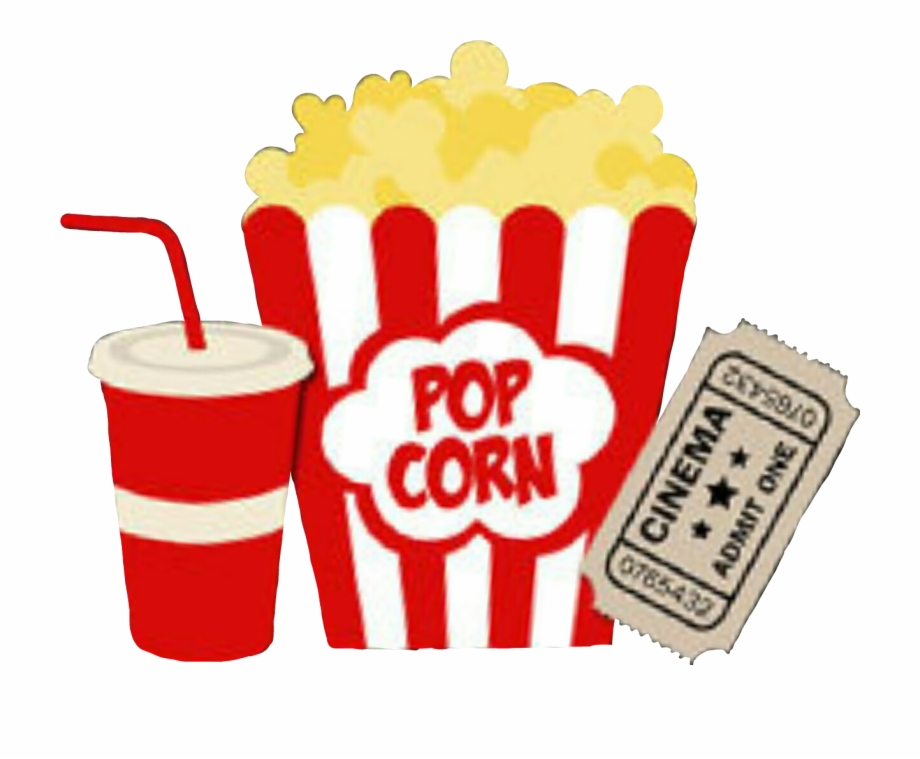 Popcorn movie clipart vector free Download Soda Clipart Movie Popcorn And Use In This - Movie Tickets ... vector free