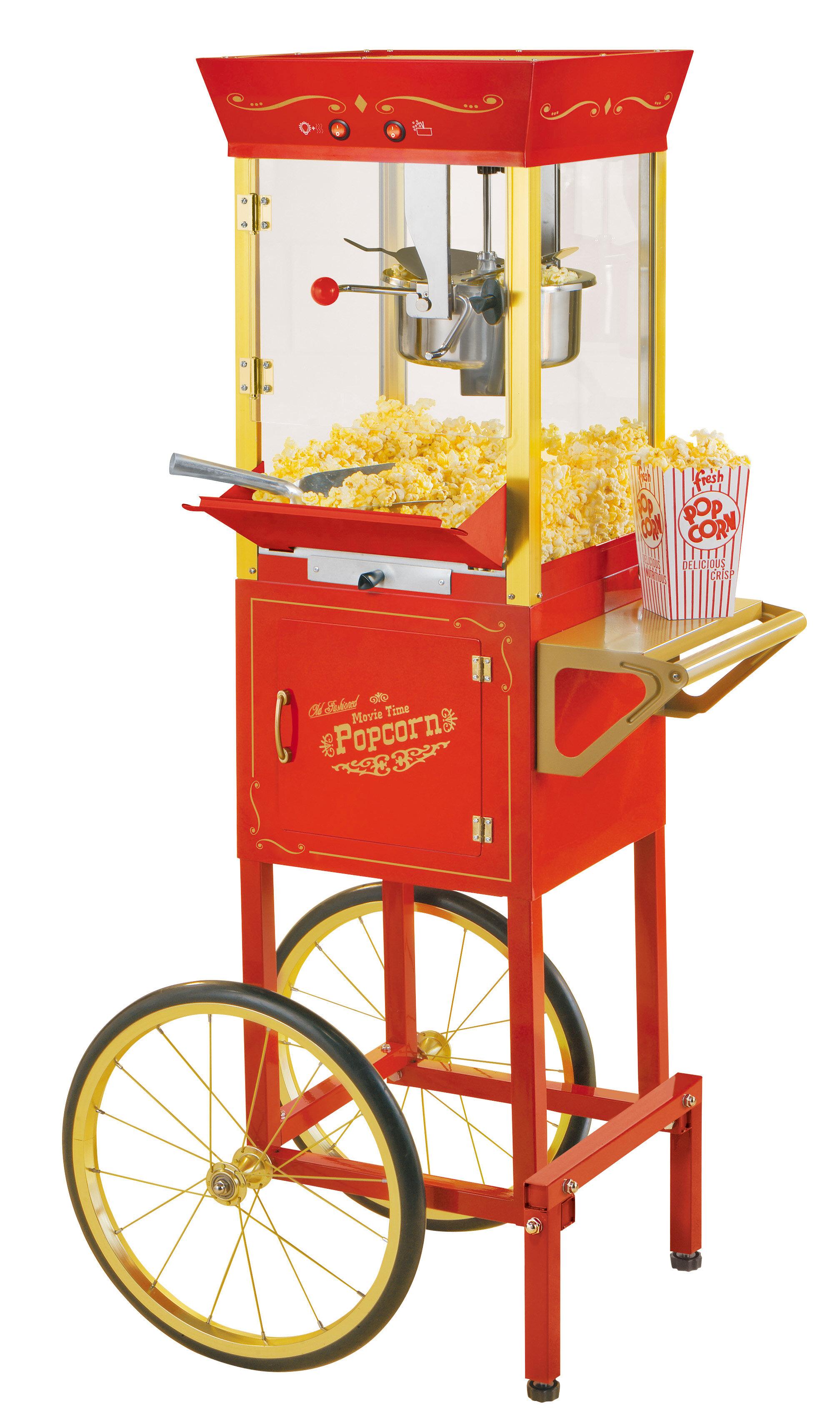 Clipart popcorn at a picnic table jpg transparent stock Popcorn Maker Cart   Wayfair jpg transparent stock