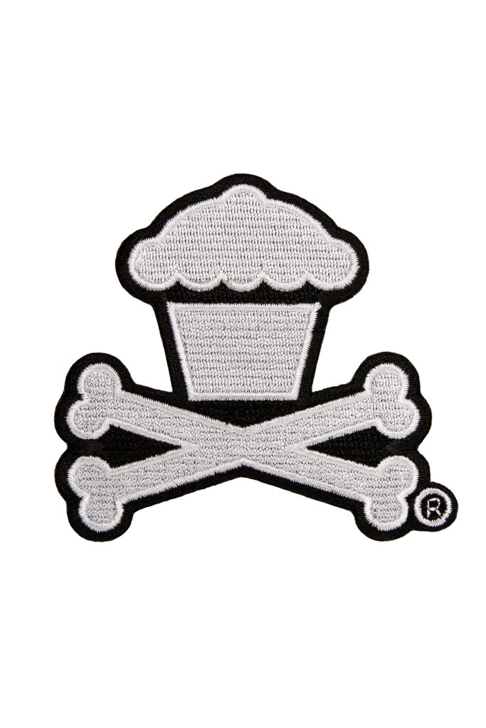 Clipart popcorn at a picnic table clipart royalty free download Classic Crossbones Embroidered Patch clipart royalty free download