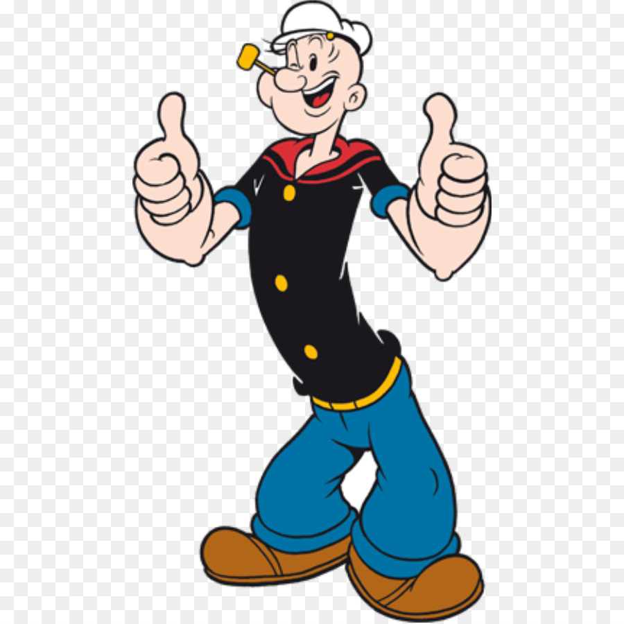 Clipart popeye clipart transparent library Boy Cartoon png download - 518*898 - Free Transparent Popeye png ... clipart transparent library