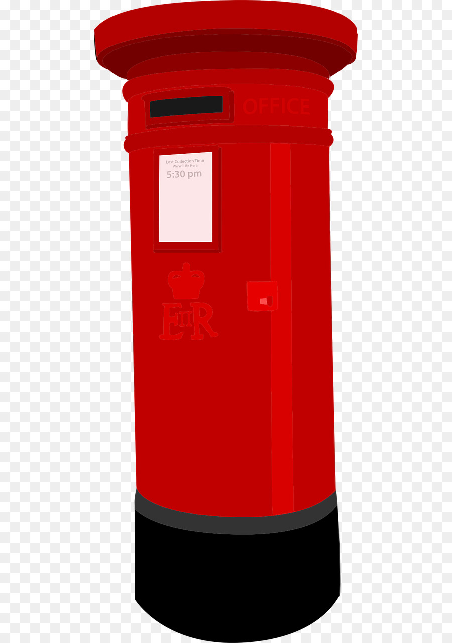 Post office box clipart clip free library Box Background png download - 640*1280 - Free Transparent Post Box ... clip free library