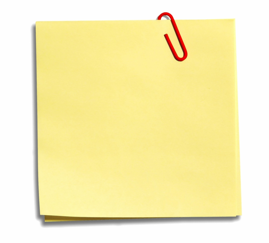Sticky note clipart vector freeuse stock Sticky Notes Png - Post Free PNG Images & Clipart Download #376351 ... vector freeuse stock
