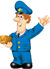 Clipart postman pat svg black and white THANK YOU | Bill | Postman pat, Kids cartoon characters, Best ... svg black and white