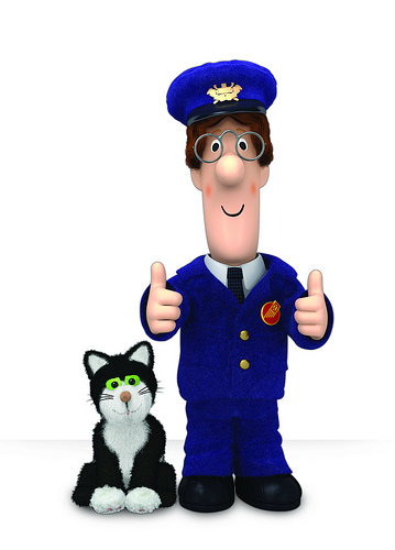 Clipart postman pat vector black and white stock Image - Postman-pat1.jpg - Postman Pat Wiki - Clip Art Library vector black and white stock