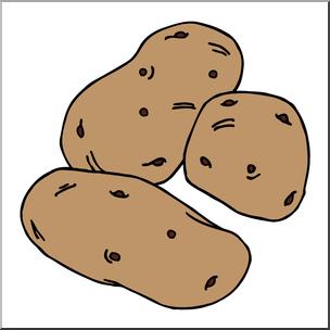 Clipart potatoes